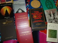 Large Occult Spiritual Book Collection