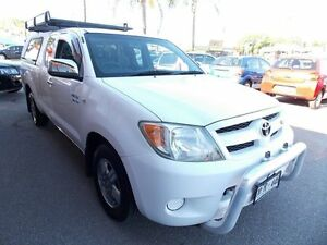2005 Toyota Hilux GGN15R MY05 SR5 Xtra Cab White 5 Speed Automatic Utility Enfield Port Adelaide Area Preview