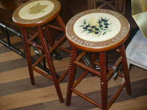 Pair of Stools, Settee, Pine Bench With Storage, Metal Table(s)