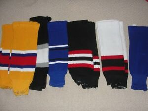 "Kids 24"" hockey socks"