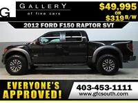 2012 FORD F150 RAPTOR SVT  *EVERYONE APPROVED* $0 DOWN $319/BW!