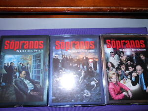 The Sopranos season fvour , five and six part1 Gatineau Ottawa / Gatineau Area image 1