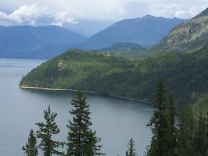 122+ Acres Of Prime Slocan Lake Waterfront