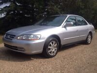 2002 HONDA ACCORD SE LOADED EVERYTHING WORKS, ONLY $2300 OBO