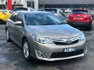 2013 Toyota Camry AVV50R Hybrid HL Brown Continuous Variable Sedan Burwood Whitehorse Area Preview