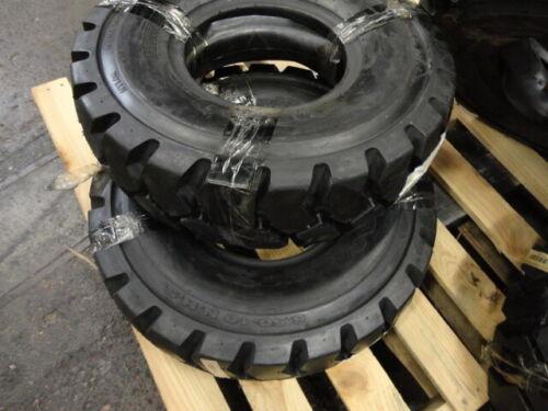 4-Maxam 6.50 x 10 Forklift Tires MS801 10 Ply Pneumatics