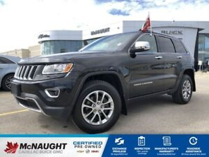 2015 Jeep Grand Cherokee Limited 4WD | Front & Rear Heated Seats