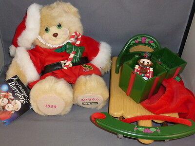 Fisher Price Briarberry berryKris Kris Christmas bear sled toys set