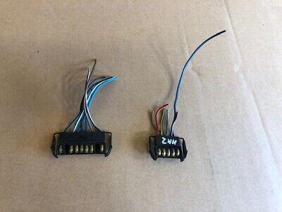 Ford Escort mk2 Dashboard Wiring Loom Plugs...Cut From Main Loom.
