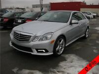 MERCEDES E350 2010 4MATIC (AWD) PREMIUM PACKAGE NAVIGATION +++