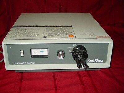 Kark Storz 487c Xenon Light Source With Storz 487uo Universal Turret Adaptor