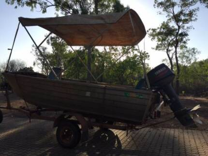 4.1m tinny, 25 Yamaha, Registered trailer Bees Creek Litchfield Area Preview
