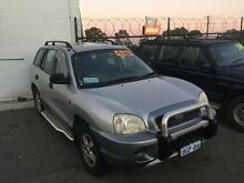 2002 Hyundai Santa Fe SM GLS Silver 5 Speed Manual Wagon Wangara Wanneroo Area Preview