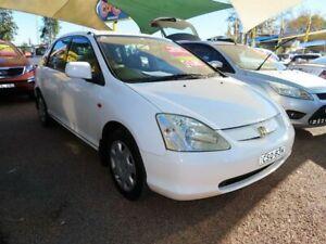 2001 Honda Civic 7th Gen VI White 5 Speed Manual Hatchback Minchinbury Blacktown Area Preview
