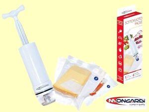 Facile-Set-Pompa-Pompetta-Sottovuoto-Con-6-Sacchetti-Pratico-e-Veloce-Mongardi