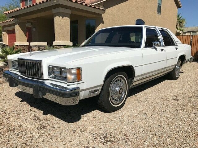1985 Mercury Grand Marquis  1985 mercury grand marquis