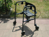 Invacare Hybrid Rollite (Two In One) Rollator Walker For Sale