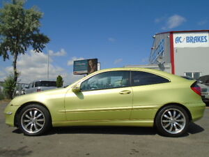 2002 Mercedes-Benz C-Class C230 Kompresso-Supercharged-6 SPEED