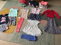 Large Girls age 3-4 years summer clothes bundle - 54 items (lots of Next)