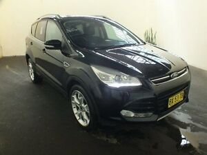 2013 Ford Kuga TF Titanium (AWD) Panther Black 6 Speed Automatic Wagon Clemton Park Canterbury Area Preview