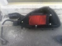 Kymco super 8 125 air filter box