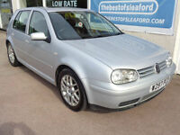 Volkswagen Golf 4x4 2.8 2000.V6 4Motion S/H to 120k Full MOT