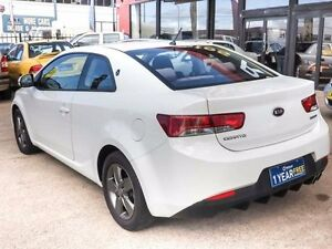 2011 Kia Cerato TD Koup White 5 Speed Manual Coupe Fyshwick South Canberra Preview