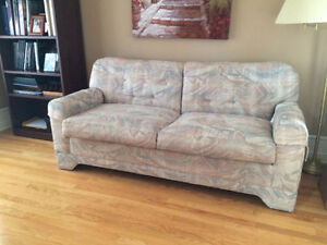 Very comfy couch that turns into bed ( couch hide A bed )