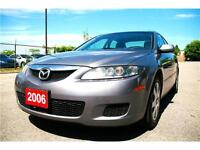 2006 Mazda6 Grey, Everything Power,Driving Well, Save Gas,A/C,