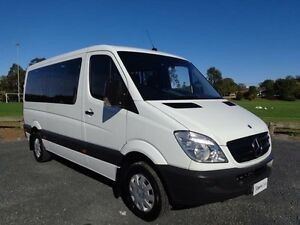 2010 Mercedes-Benz Sprinter NCV3 MY10 316CDI White 5 Speed Automatic Van Erina Gosford Area Preview
