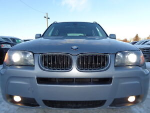 2006 BMW X3 3.0i SPORT-AWD-PANORAMA SUNROOF-HEATED LEATHER-CLEAN