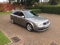 2004 Audi A4 1.8T Sport Auto. May PX