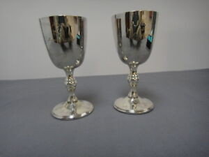 Silver plate goblet buy sell items tickets or tech in for Burke and wallace silversmiths