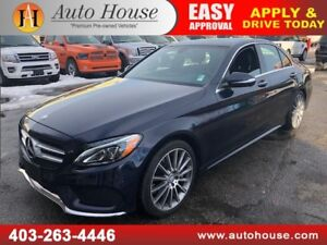 2015 MERCEDES C400 4MATIC AWD NAVIGATION BACKU CAMERA