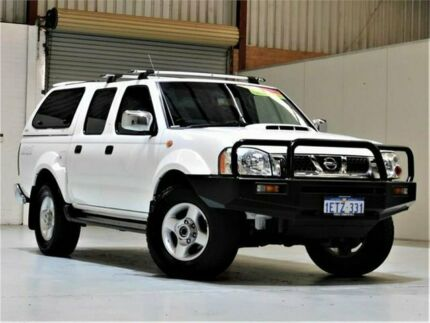 2015 Nissan Navara D22 S5 ST-R White 5 Speed Manual Utility Yangebup Cockburn Area Preview