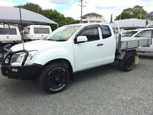 2012 Isuzu D-MAX TF MY12 SX (4x4) White 5 Speed Manual Spacecab Newcastle 2300 Newcastle Area Preview