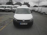 Volkswagen Caddy C20 1.6 Tdi 102Ps Van DIESEL MANUAL WHITE (2013)
