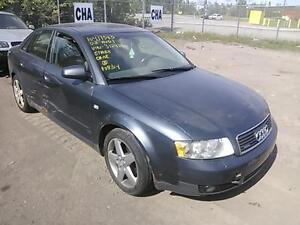 parting out 2002 audi a4