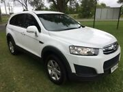 2014 Holden Captiva CG MY14 7 LS (FWD) White 6 Speed Automatic Wagon Tuggerah Wyong Area Preview