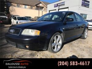 Finance available ! 2003 AUDI A6 Quattro AWD has 164kms