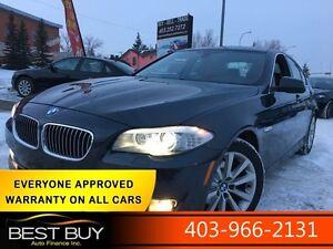 2013 BMW 528i xDrive / $217 bi-weekly  - 0 down