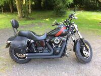 Harley Davidson 2014 FXDF FatBob.
