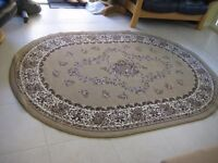 Large oval rug 2.3m x 1.6m