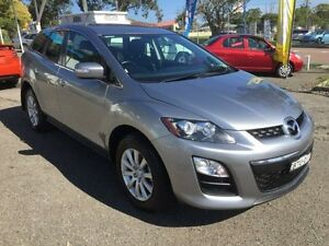2010 Mazda CX-7 ER MY10 Classic (FWD) Silver 5 Speed Auto Activematic Wagon Kanwal Wyong Area Preview