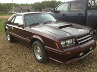 1982 Ford Mustang GT 5lit 4 speed