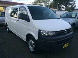2012 Volkswagen Transporter T5 MY12 TDI 400 LWB Low White 7 Speed Automatic Van Kooragang Newcastle Area Preview