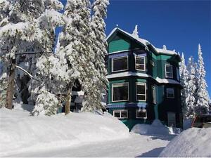 At Silver Star near Vernon, BC, a 5 bed 4 bath home