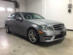 2014 Mercedes Benz C300 4matic, F.warranty, sport Pkg