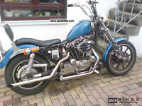 Harley sportster project WANTED!!!!