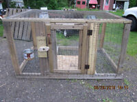 ANIMAL'S CAGES FOR OUTSIDE (RABBITS, PHEASANTS, HENS)